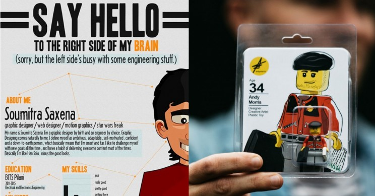 11 Examples Of Creative Cvs For Engineers