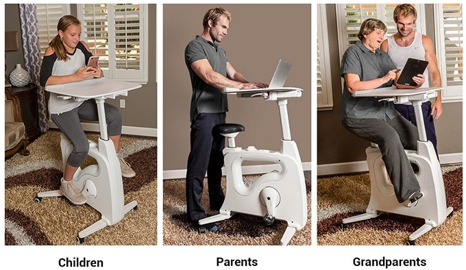 This New Kickstarter Project Lets You Exercise without Leaving Your Desk