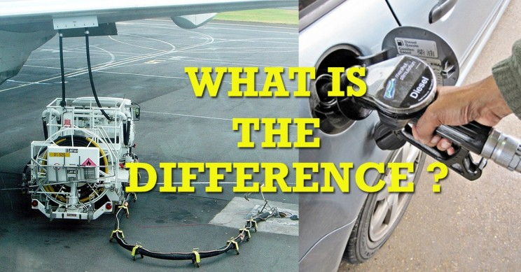 What's the Difference Between Jet Fuel and Gasoline ?