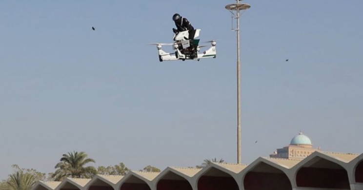 Dubai Police Announce They Will Be Using Flying Motorbikes