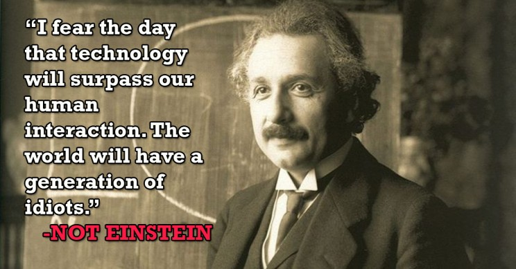 13 Inspiring Einstein Quotes Never Actually Said by Einstein