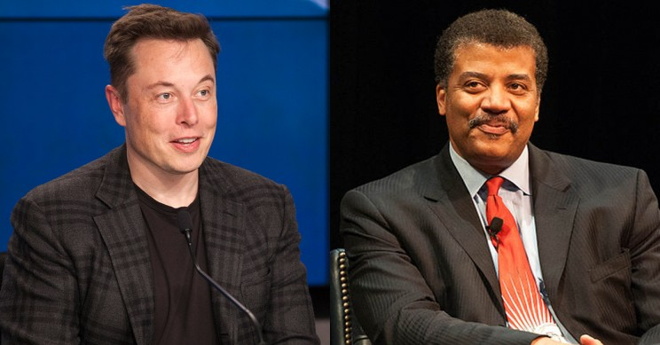 Neil deGrasse Tyson Heaps on the Praise for Elon Musk and His Ambitious Efforts