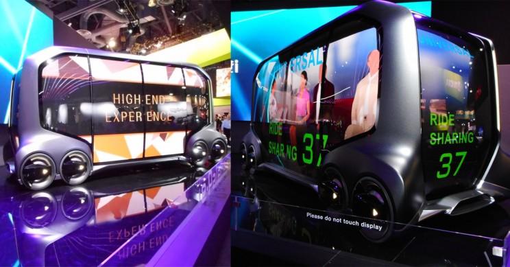 Toyota Showcases their Autonomous Modular E-Commerce Vehicle, the E-Palette