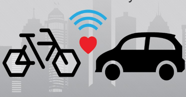 Ford Working on a Bike to Vehicle (B2V) AI Communication System