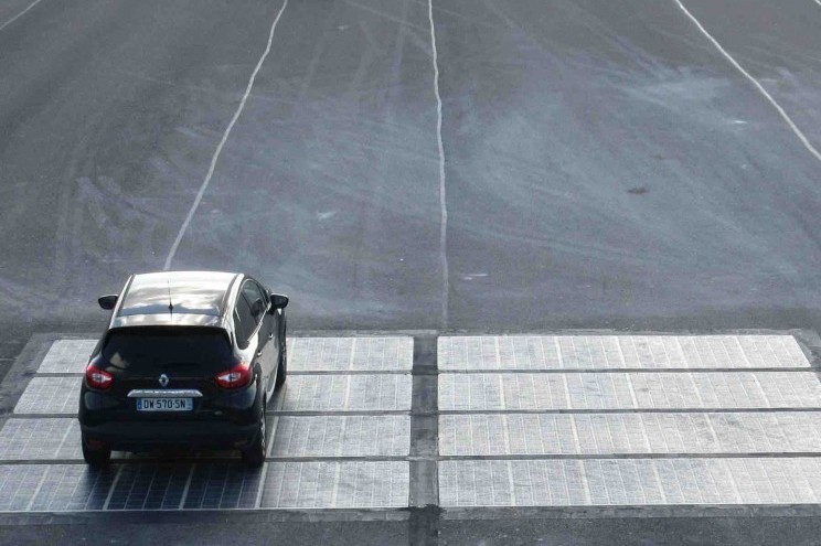 Thieves in China Steal Section of Newly Installed Solar Road