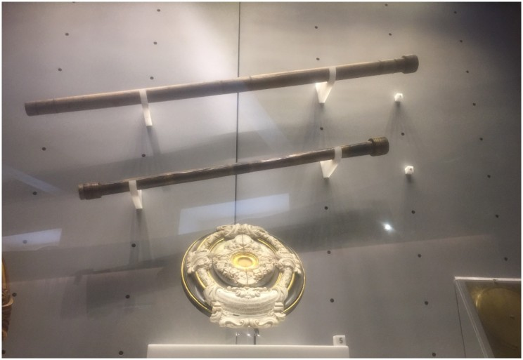galileo's original telescopes ©susanfourtane