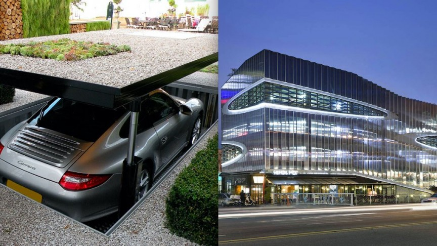 20 Garage Designs That Are Also Ingenious Feats Of Architecture