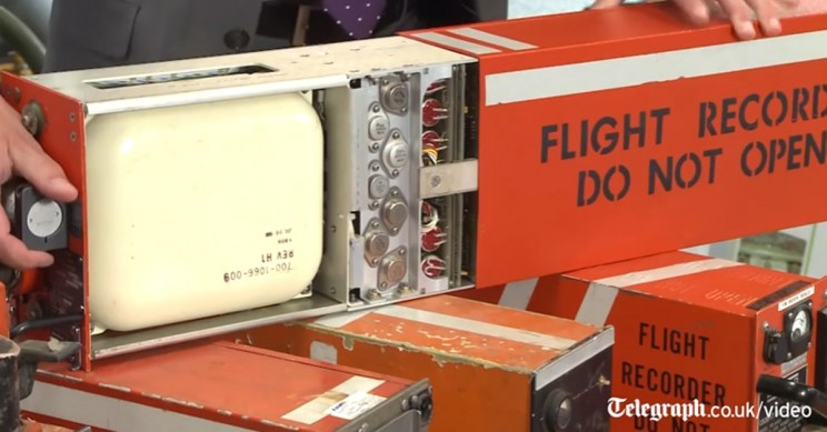 How Does the Black Box in an Aircraft Work?