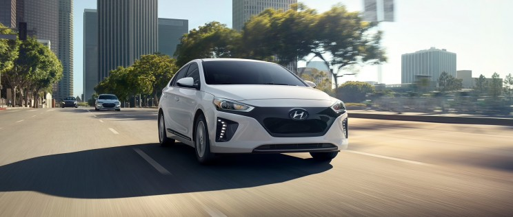 hyundai ioniq electric vehicle