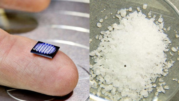 IBM Unveils the World's Smallest Computer That Is Tinier Than a Salt Grain