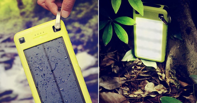 Stay Powered up on the Go with This High-Capacity Solar Charger