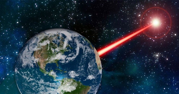 Laser to Communicate With Possible Extraterrestrial Beings