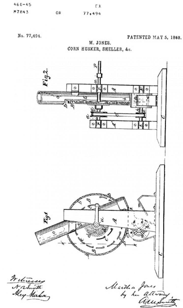 martha jones-patent