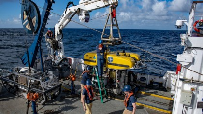 Research Ship May Have Found Rare Meteorite Fragments in the Ocean