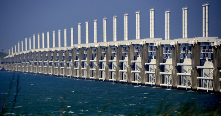 The Netherland's Billion Dollar Sea Wall