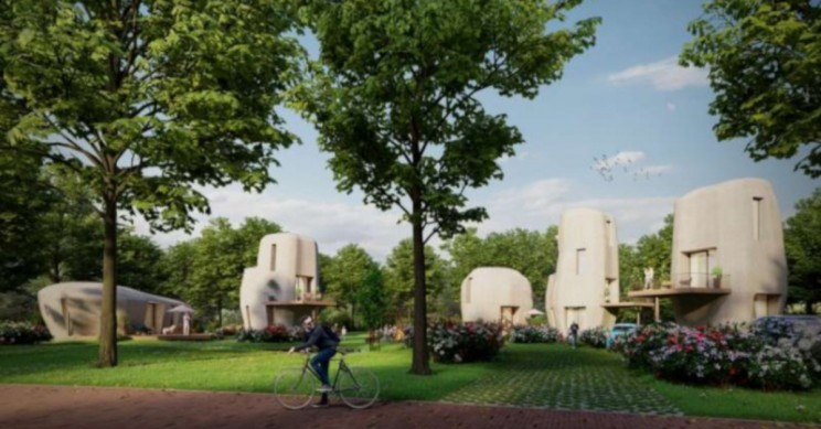 3D-Concrete-Printing Smart Housing for Smart Cities in The Netherlands