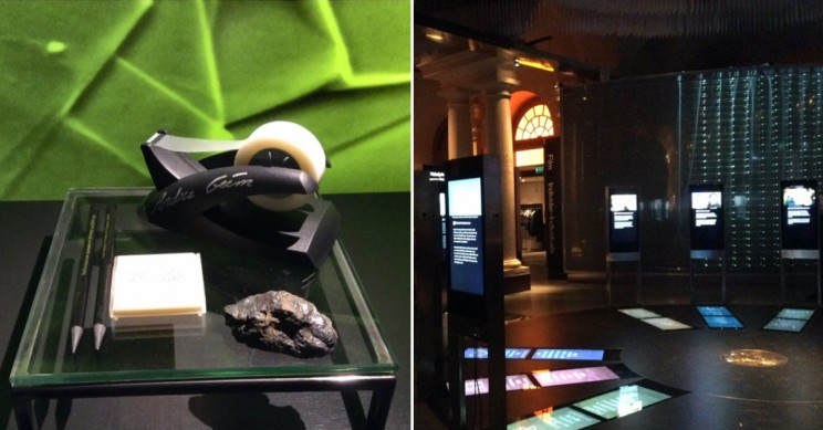 First Graphene Transistor and Alfred Nobel's Will at Nobel Museum Can Impress Anyone