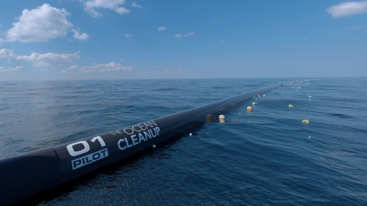 This Giant Ocean Cleaning Machine Will Tackle the World's Plastic Pollution Problem