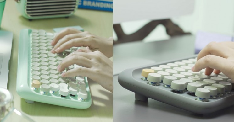 This Wireless Keyboard Combines Modern Engineering with