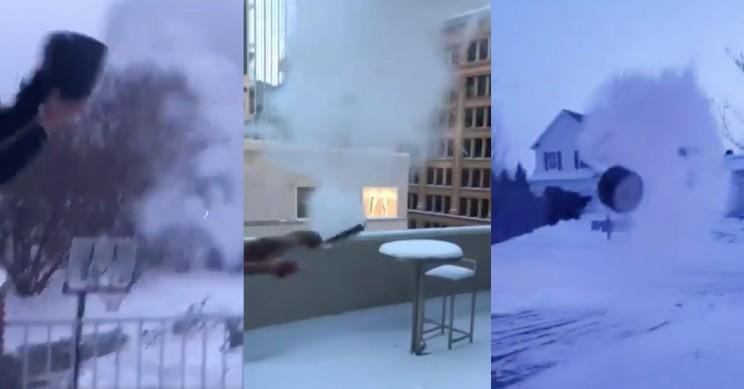 Polar Vortex Creates Perfect Conditions for Home Science
