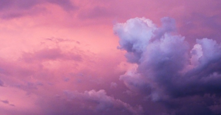 The Reason Behind the Purple Skies That Appeared After Hurricane Michael
