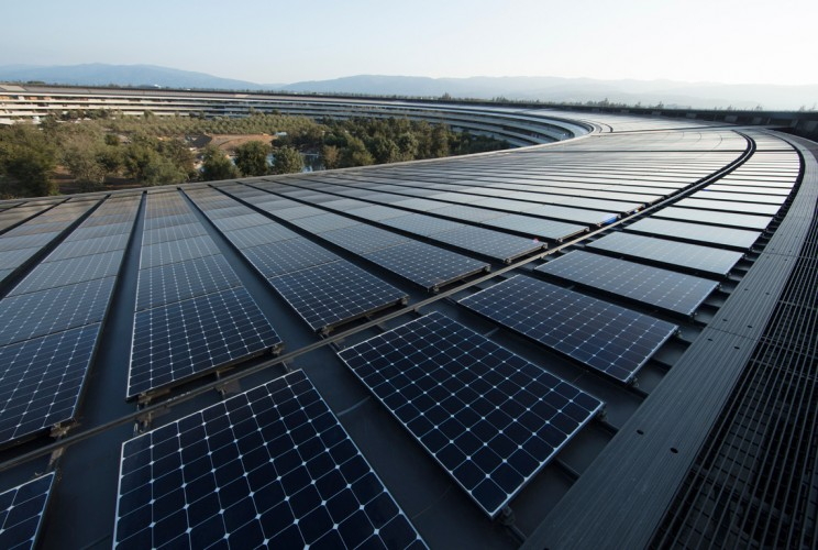 Apple Announces All Its Facilities Are Now Powered by 100 Percent Renewable Energy
