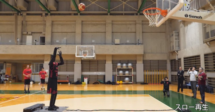 Toyota Designs a Robot that Can Make 200,000 Shots on the Basketball Court