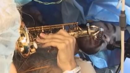 Man Plays Saxophone During His Life-Saving Brain Surgery