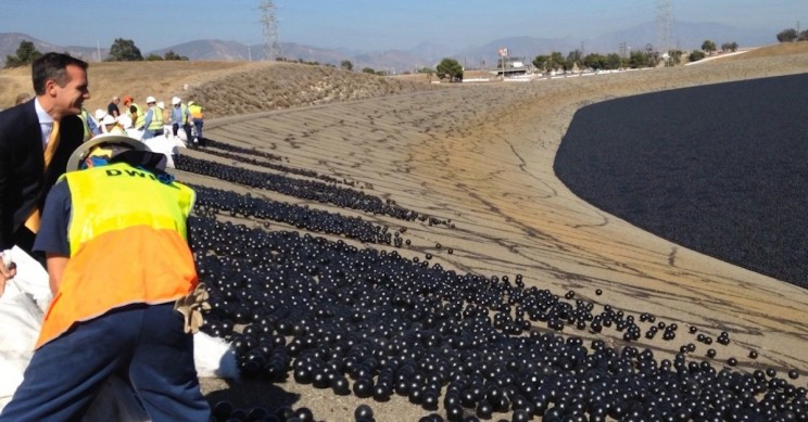 Producing 'Shade Balls' May Require More Water Than They Save