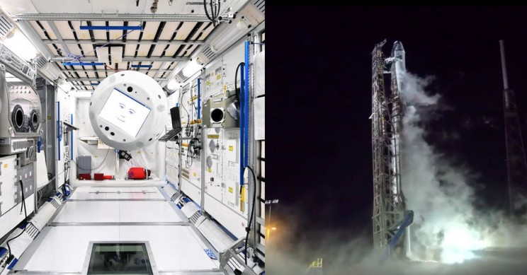 SpaceX's 15th Resupply Cargo Mission to ISS Launches With First AI Flying Robot Crew Member