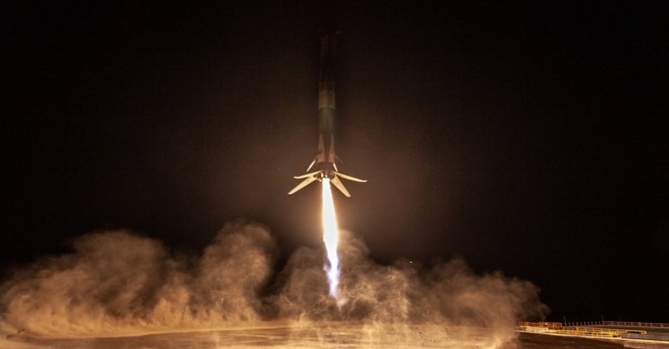 SpaceX Nails the Company's Historic Rocket Landing in California