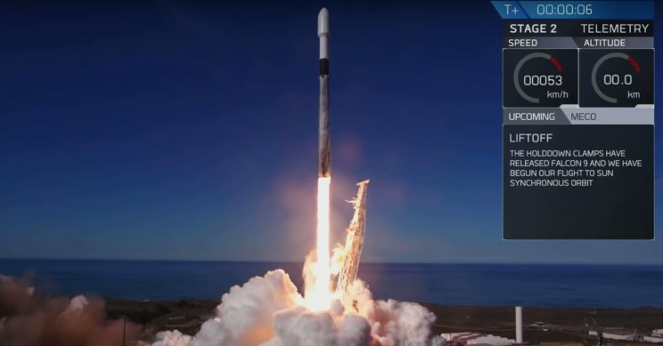 SpaceX Launches 64 Satellites into Orbit at Once
