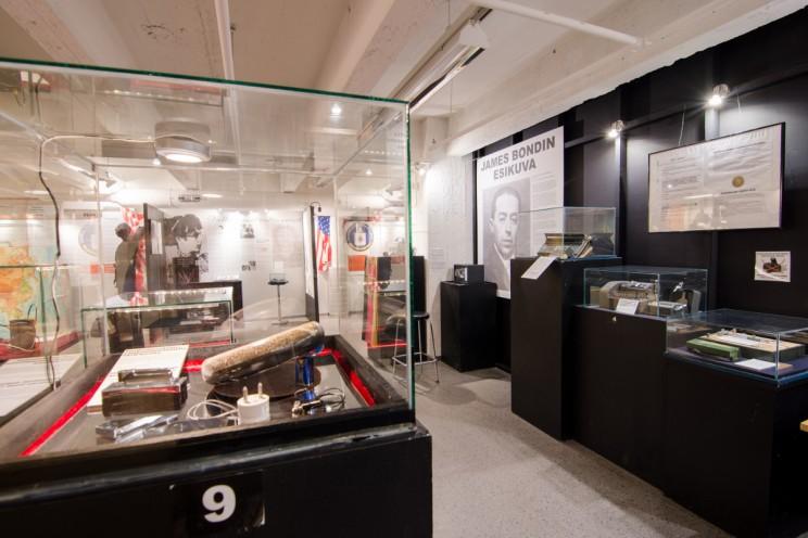 spy museum in Tampere, Finland ©Emiliano Verrocchio