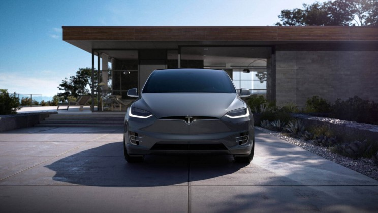 tesla model x electric car