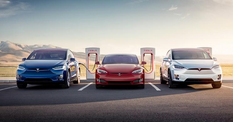 Tesla Unveils New Super Fast Charging Network