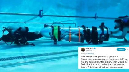 """Elon Musk Fires Back at Thai Rescue Chief Calling Him """"Not the Subject Matter Expert"""""""