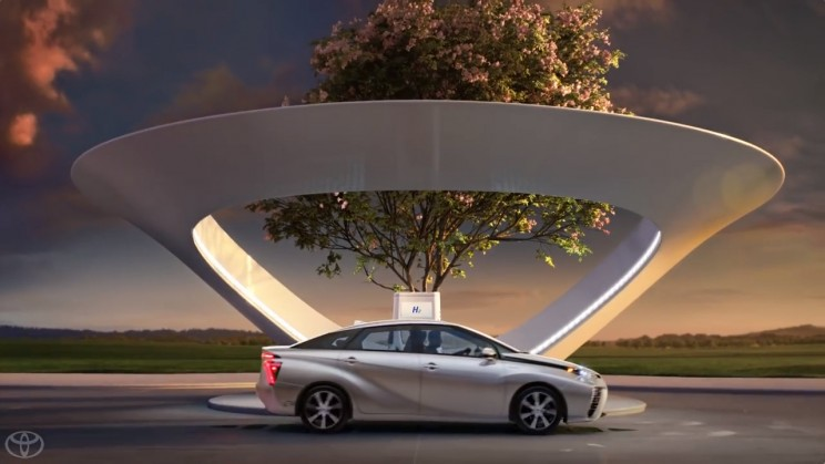 Toyota Driving Towards Cleaner And Greener Roads