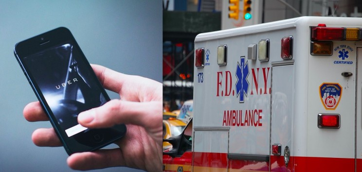 Research Shows More People Choose to Call Uber Instead of Ambulances