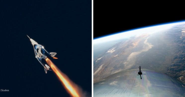 Virgin Galactic Supersonic Plane Makes Space History