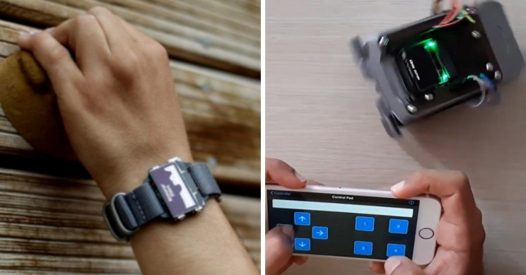 Learn to Code by Building Your Own Smartwatch with watchX