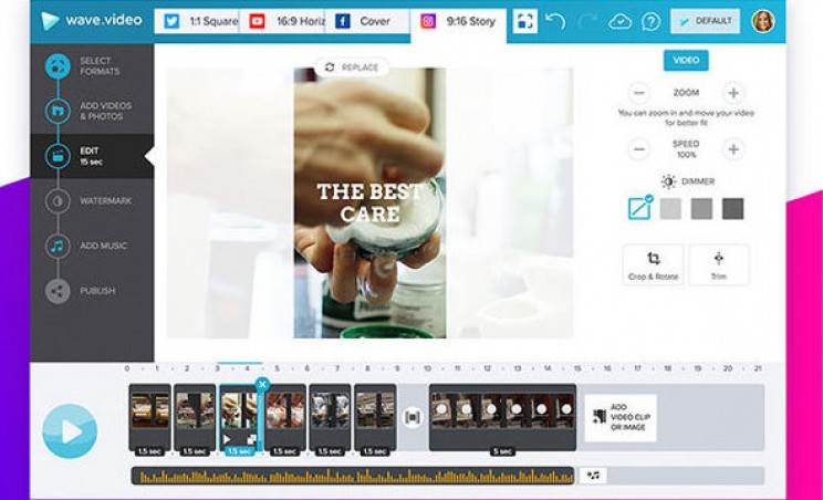 Create Professional Videos in Minutes With Wave.Video Pro