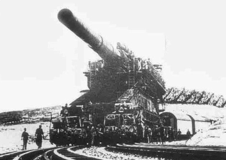 biggest machines schwerer gustav