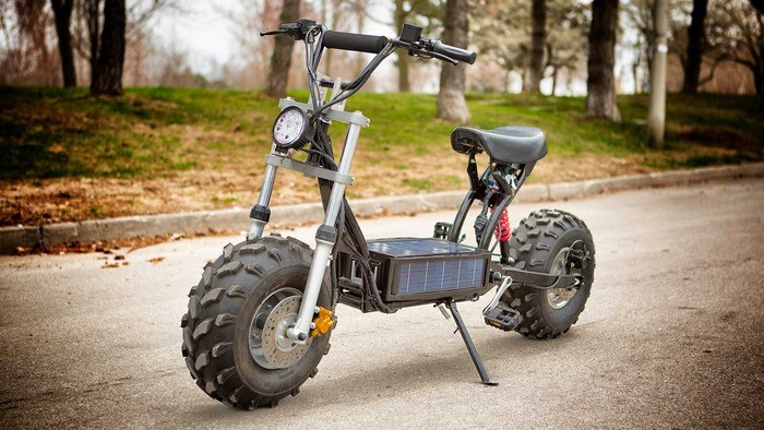Daymak Beast: The on-road off-road solar powered e-bike