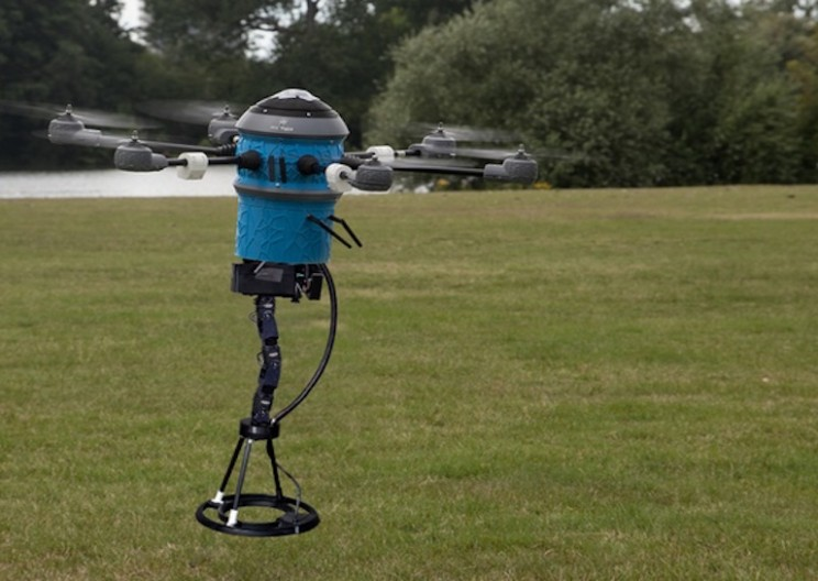 Mine Hunting Drone Clears Minefields Fast and Effectively