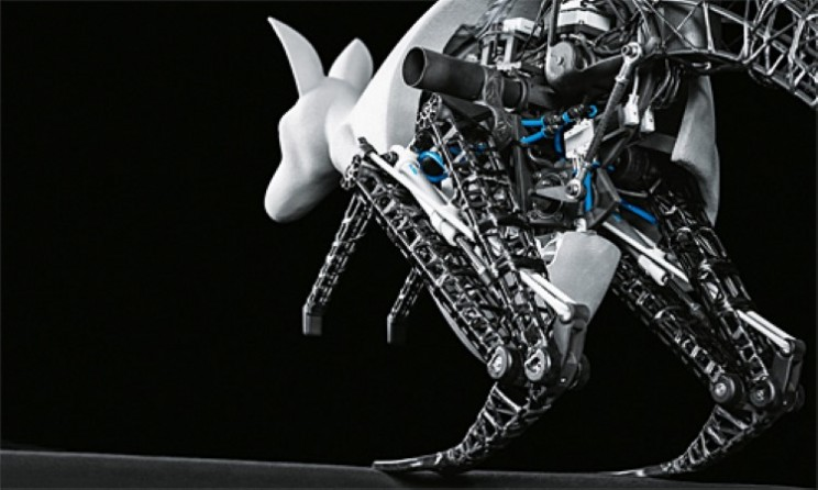 Robotic kangaroo based on the principles of nature