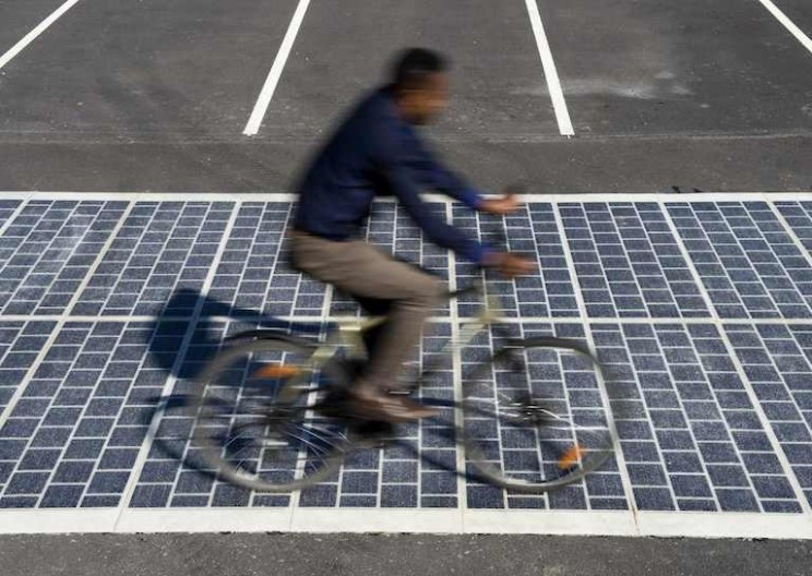France is Building the First Ever Solar Road