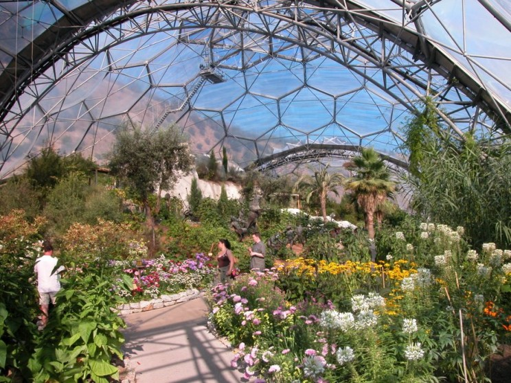 Eden Project: The World's Largest Greenhouse