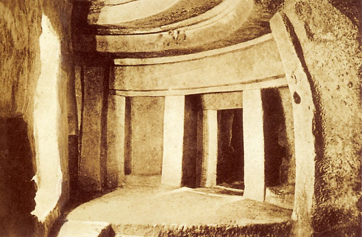 Hypogeum, the Underground Temple in Malta