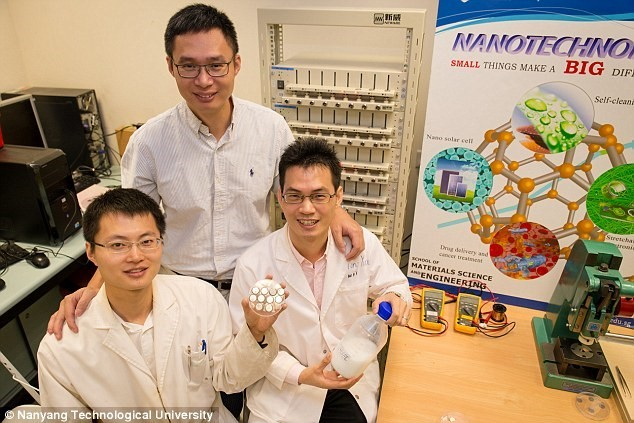 Researchers announce a battery that can charge in 2 minutes