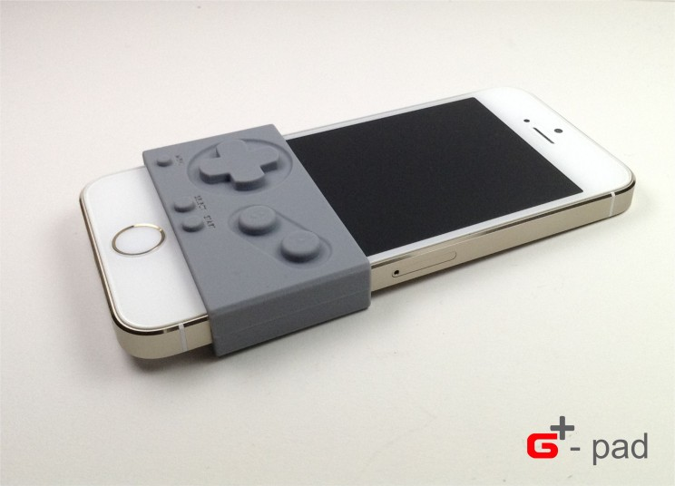 G-Pad silicone sleeve adds Gameboy buttons to your iPhone